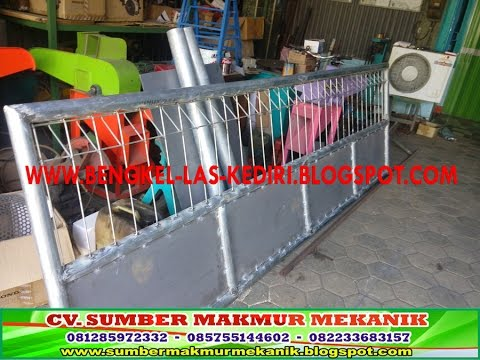 Bengkel Pembuat Pagar Pintu Besi, Kanopi, Teralis, Tangga, Balkon, Tarup, Sumber Makmur Mekanik