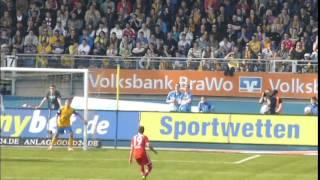 Video Gol Pertandingan Eintracht Braunschweig vs FC Bayern Munchen
