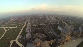 Palatul Mogosoaia - filmare aeriana