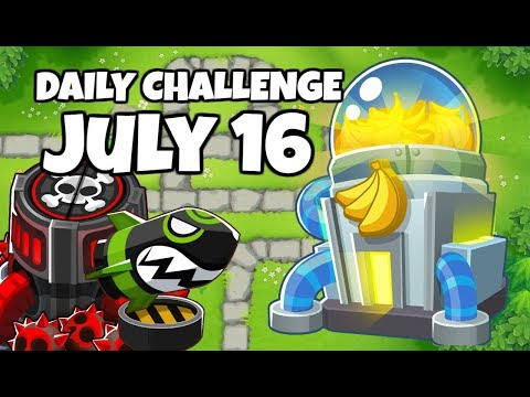 BTD6 Daily Challenge (R100) Not A Monkey In Sight July 16, 2019