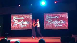 Daniel y Desireé Bachatea Salamanca 2017