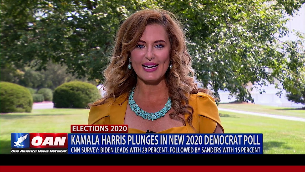 OAN Kamala Harris plunges in new 2020 Democrat poll