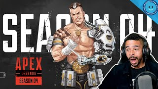 RAYNDAY REACTS TO APEX LEGENDS SEASON 4 REVEAL! NEW WEAPON, NEW LEGEND