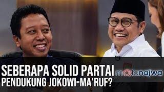 Politik Sarung Ma'ruf Amin: Seberapa Solid Partai Pendukung Jokowi-Ma'ruf? (Part 5) | Mata Najwa