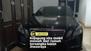 Kejagung sita mobil mewah dari rumah tersangka kasus Jiwasraya