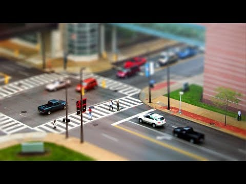 MINIATURE WORLD! Best TILT SHIFT VIDEO HSW114
