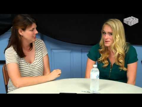 with Leven Rambin, The Hunger Games' Glimmer