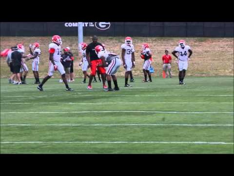 2016 UGA Spring Practice (3.24): Mel Tucker and DBs