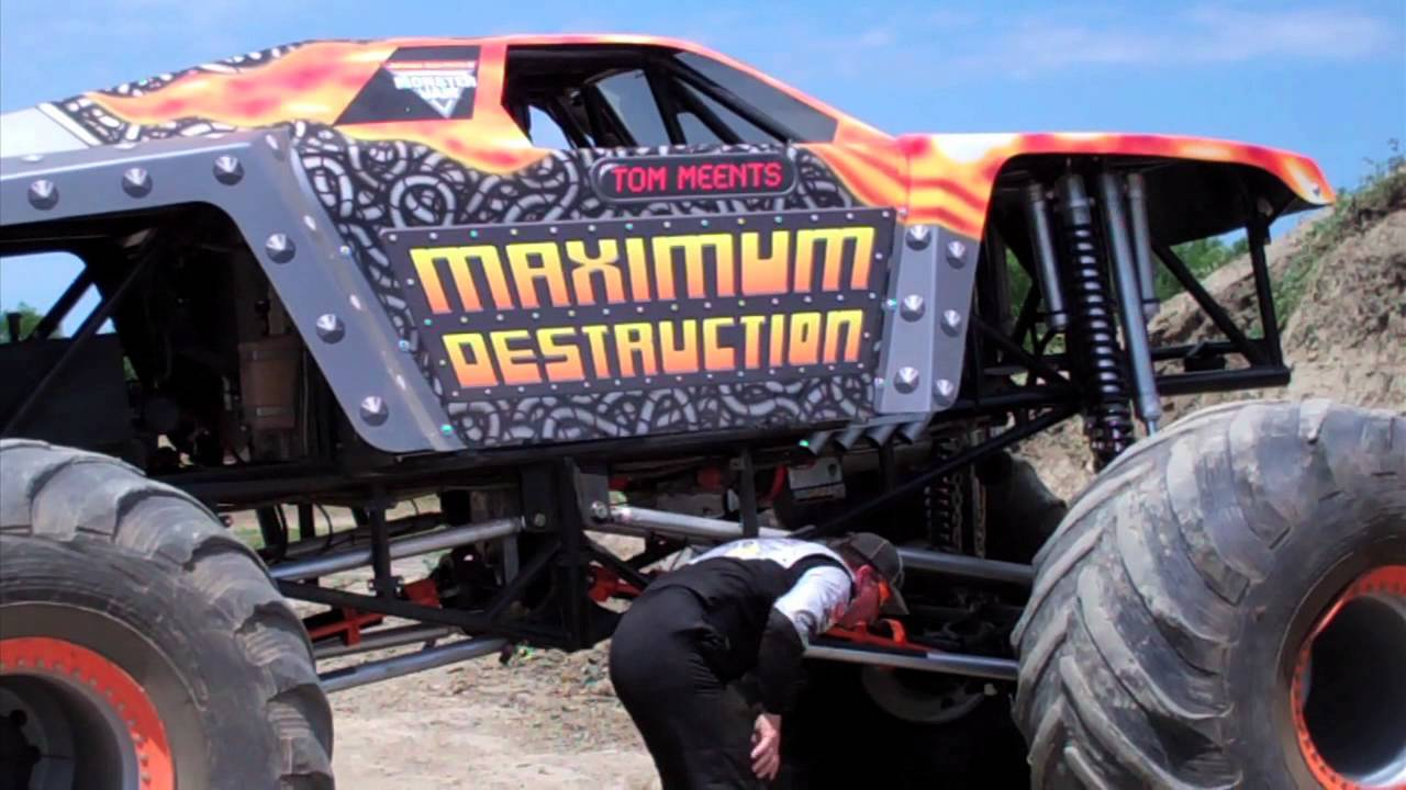 Monster Jam - Maximum Destruction Monster Truck Driver Tom ... |Tom Meents Monster Truck Driver