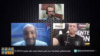 PAPO RETO - Entrevista pré-candidatos a vereador de Valparaíso Ricardo Valle PL e Agente Maicon SD