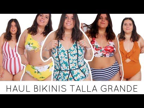 Super Haul Bikinis Y Banadores De Talla Grande Cupshe Laura Yanes Youtube