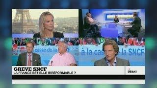 Grève SNCF : la France est-elle irréformable ? (Partie 1) - #DébatF24