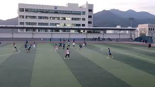 효민축구회 VS동서대 레저스포츠 2쿼터