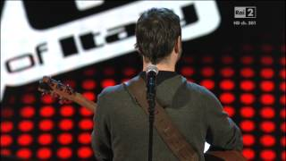 Francesco Spaggiari a The Voice of Italy