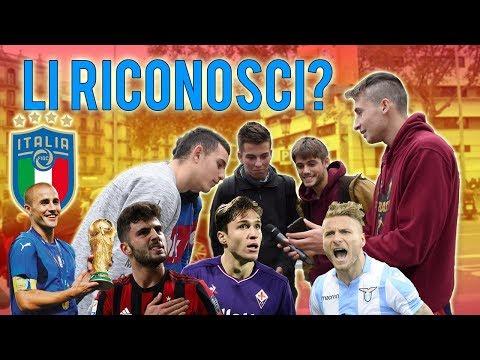 Gli SPAGNOLI Conoscono i Calciatori ITALIANI? - QUIZ Sul Calcio a Barcellona