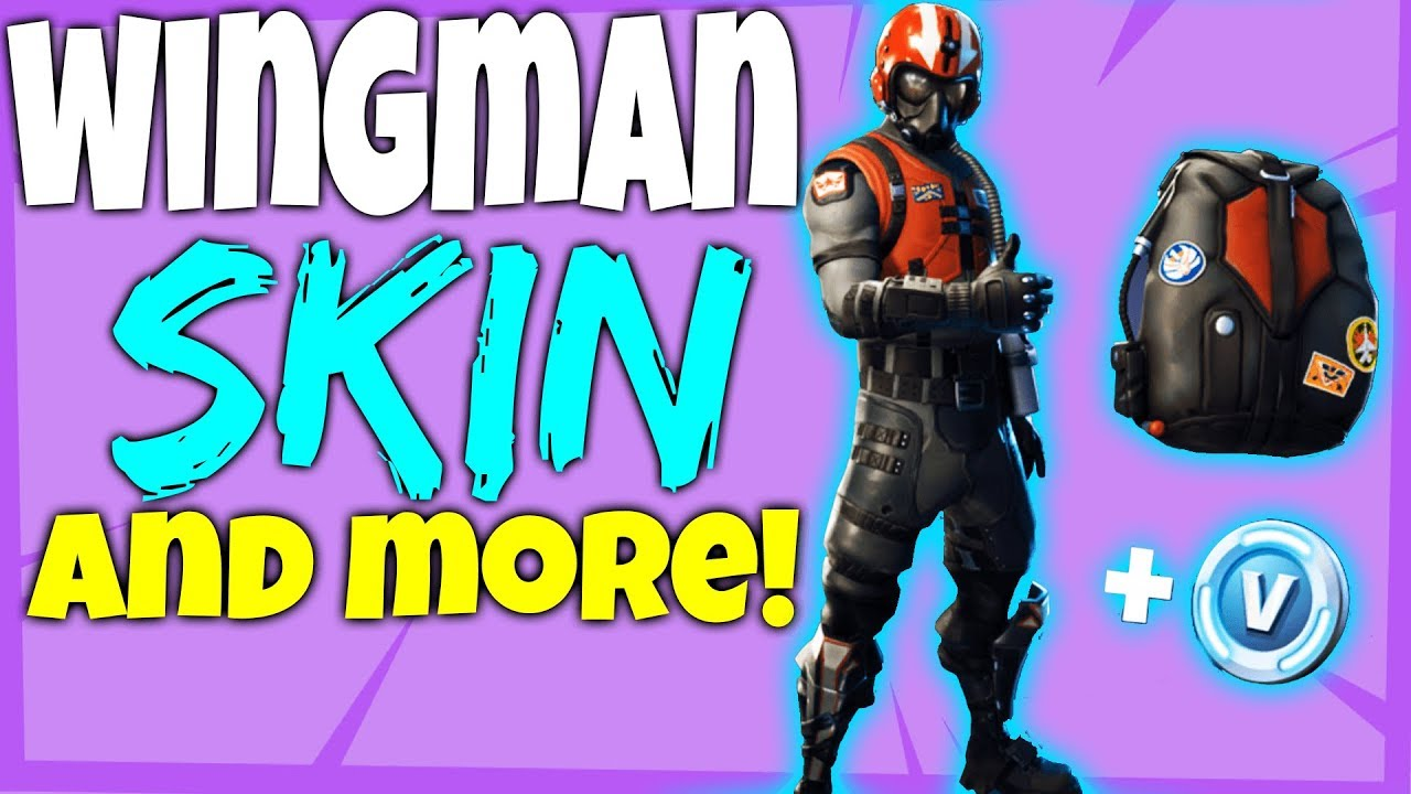 Fortnite How to GET WINGMAN STARTER PACK SKIN - WINGMAN ...