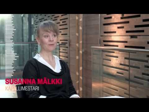 Helsingin kaupunginorkesteri - haastattelussa Susanna Mälkki