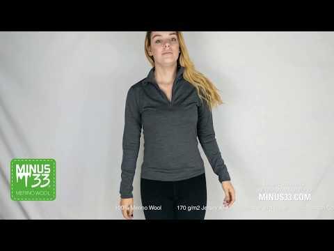 Liberty Women's Lightweight Wool 1/4 Zip