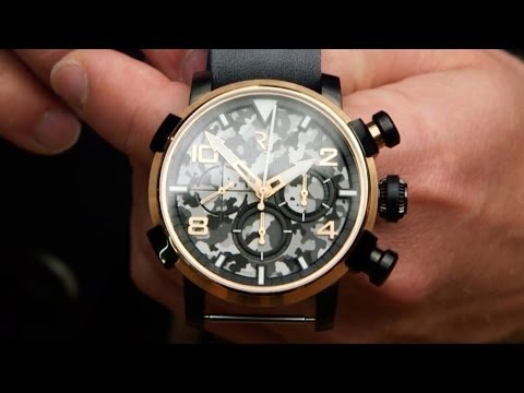 Romain Jerome Nose-Art DNA with CEO Manuel Emch