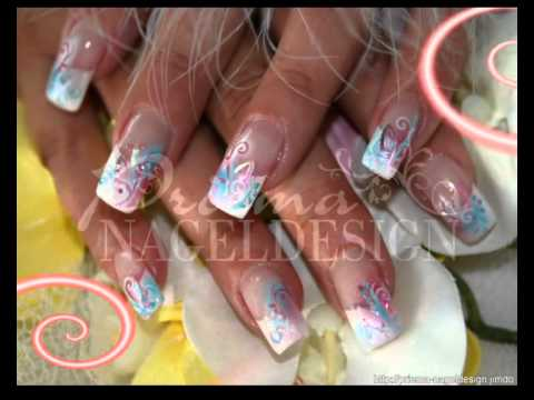 nails by priema nageldesign airbrush stamping nailart youtube. Black Bedroom Furniture Sets. Home Design Ideas