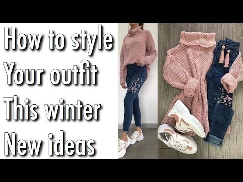 [VIDEO] - How to style your outfit this winter || winter lookbook for girls || outfit ideas for girls 8
