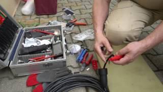 Montage einer Schukosteckerkupplung