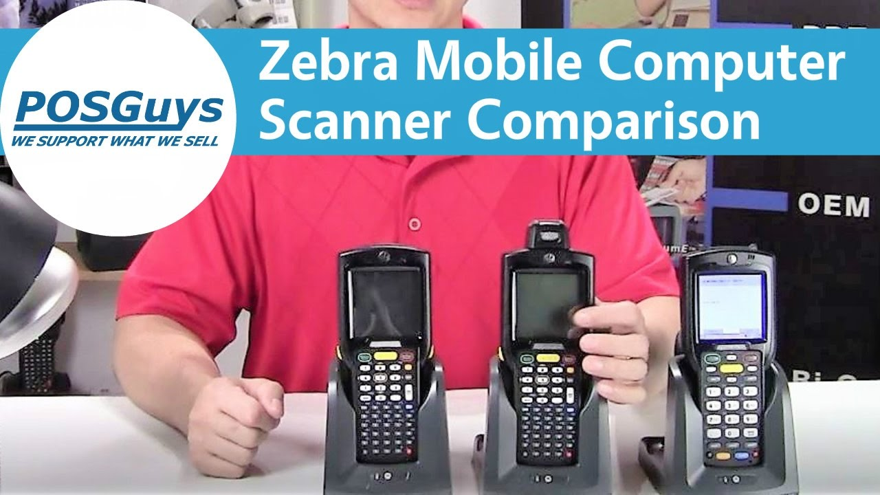 Zebra Mobile Computers - Quick Scanner Comparison by POSGuys