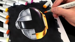 Daft Punk - Speed drawing