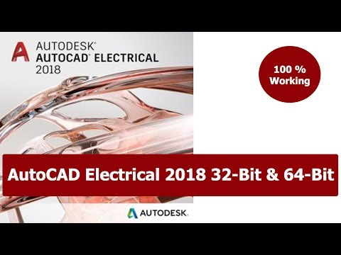 Download and install autocad electrical 2018 free version.