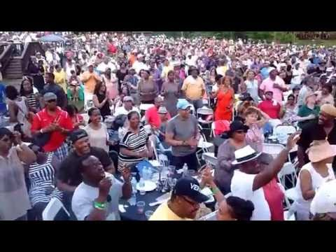 Music City Jazz Festival Nashville Tennessee Carl wood Chevy black Amphitheater