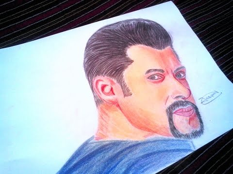 Drawing Salman Khan