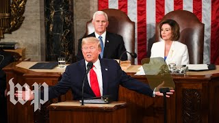 Watch Trump's full 2020 State of the Union speech President Trump delivered his third State of the Union address on Feb. 4. Read more: wapo.st/2UpZ1Nx. Subscribe to The Washington Post on YouTube: ...