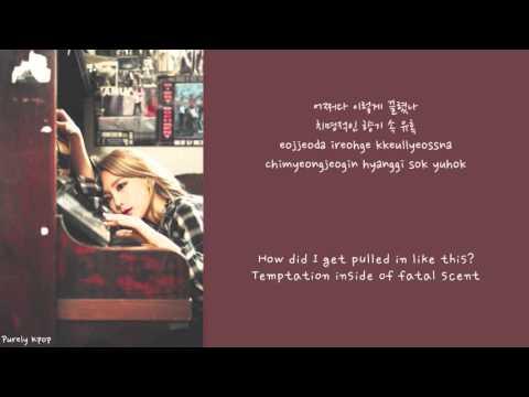 Taeyeon - Stress LYRICS [ENG/ROM/HANGUL]