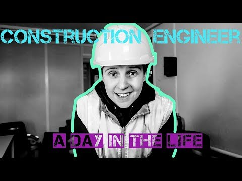 Construction SITE ENGINEER: DAY IN THE LIFE - Setting out
