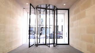 revolving doors by Open Entranes
