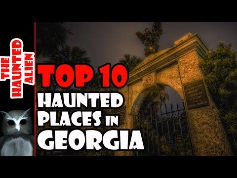 Top 10 Haunted Places in Georgia