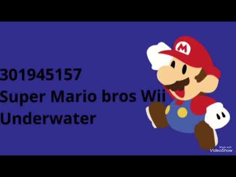 Roblox Music Codesids Mario Version - roblox music ids wii music