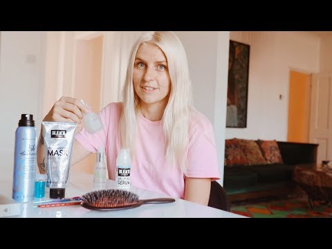 Alex Brownsell On How To Survive Bleaching Your Hair