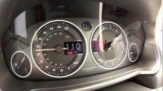 Aston Martin Vanquish 0-200 km/h (Motorsport)