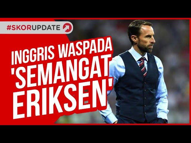 Inggris vs Denmark, Inggris Waspadai 'Semangat Eriksen' Denmark