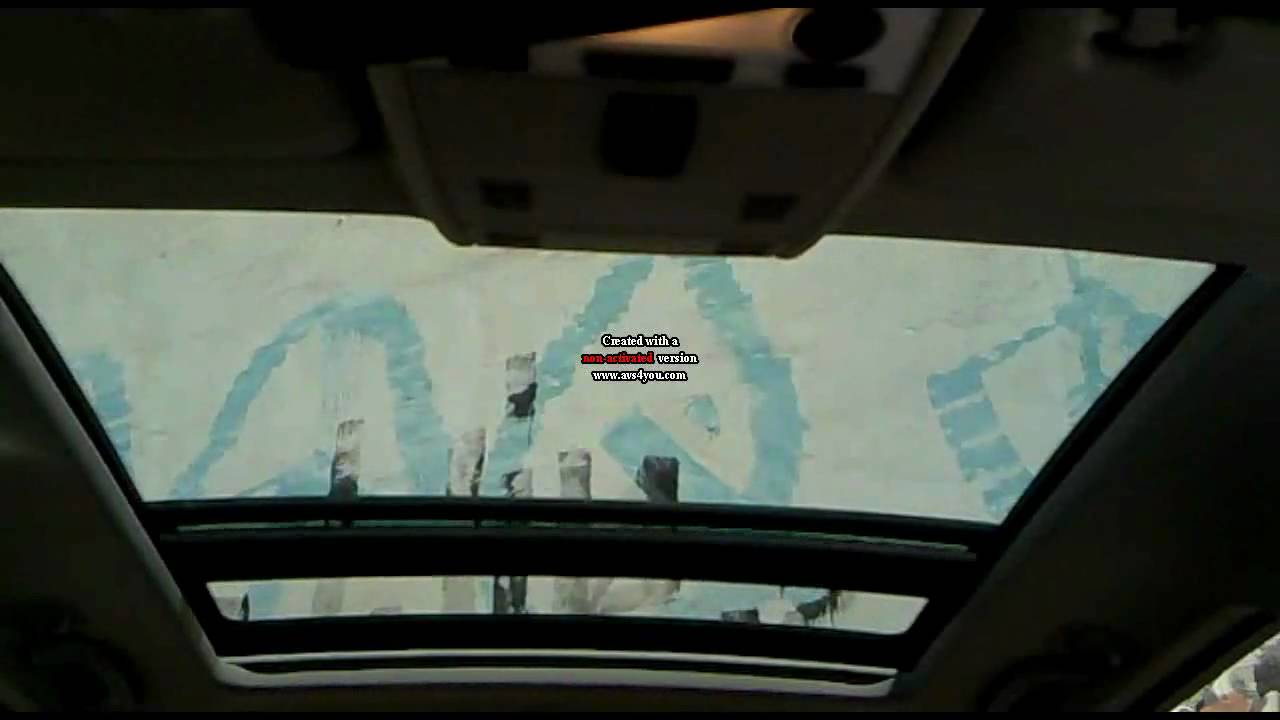 E91 Panorama Sunroof Youtube