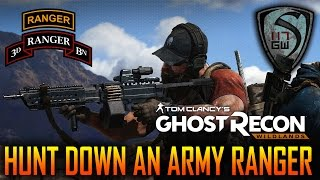 GHOST RECON HUNTS DOWN ARMY RANGER 3/75 CARL BOOKHART MISSION - SPARTAN117GW