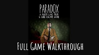 Cube Escape: PARADOX Full Game Walkthrough | Chapter 1 and Chapter 2 Guide