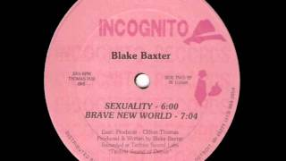 Blake Baxter - Sexuality