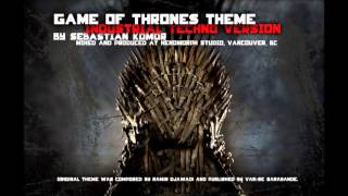 Game Of Thrones theme - Industrial Techno version by Sebastian Komor