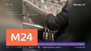 Смотреть видео В Домодедове пассажиры почти целиком сдали в багаж автомобиль - Москва 24 онлайн