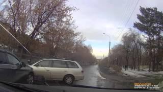 Ангарск, 18 марта 2016 года, авария с разбоем.