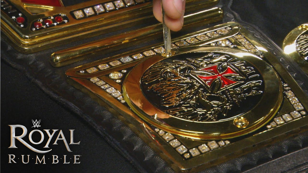 Triple H S Custom Plates Are Applied To The Wwe World