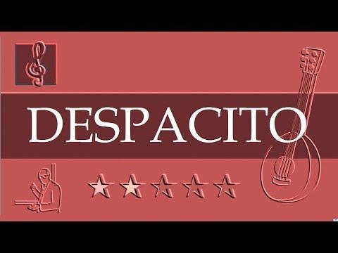 Mandolin TAB - Despacito - Luis Fonsi ft. Daddy Yankee (Sheet Music)