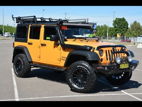 2012 Jeep Wrangler MY13 Auto V6 with thousands spent for sale @ Newcastle Vehicle Exchange